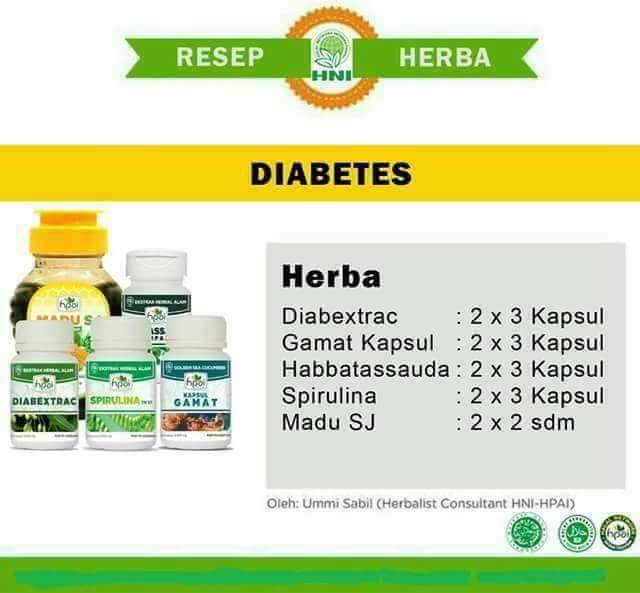resep obat diabetes herbal alami