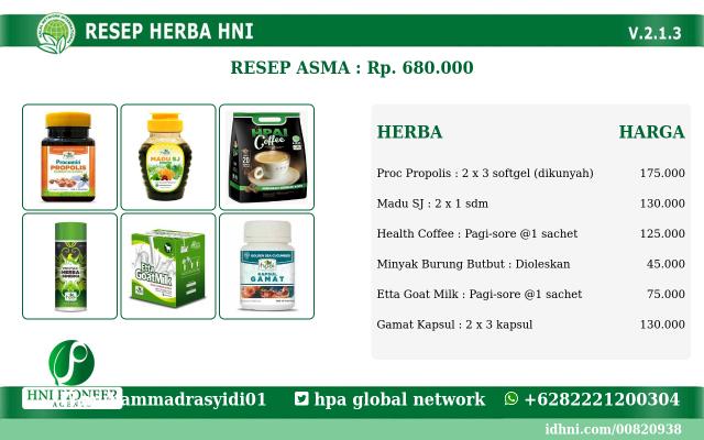 resep obat herbal asma - Cara Mengobati asma dengan resep herbal hpai