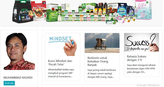 Peluang Bisnis Online Syariah di Sumatera Selatan - Hni HPAI Network
