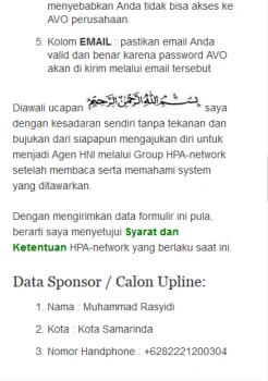 Cara mendaftar menjadi agen HNI di hnipioneer.com